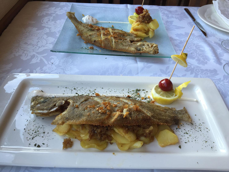 Platos La casona de Rey Hotel Restaurante Belmonte de Miranda
